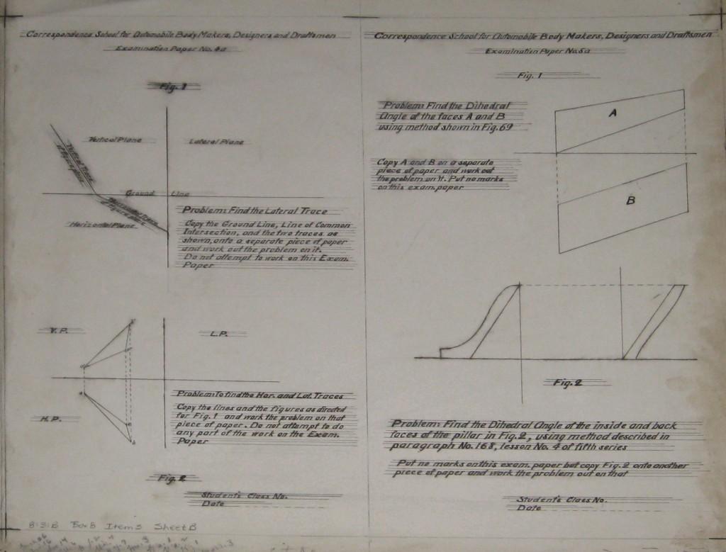 examination paper #4a 5a